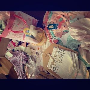 New born- 12 mo Baby girl clothes/accessories
